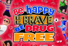 be happy be brave, be drug free