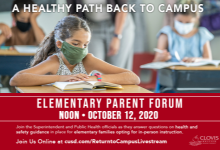 Elementary Parent Forum