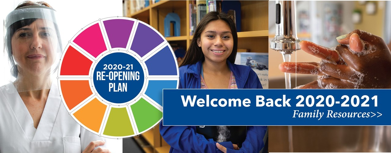 Welcome Back 2020-2021 Family Resources